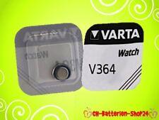 3 x Varta V364 Uhrenbatterie Knopfzelle SR621SW SR621 SR60 20 mAh AG1 1,55V