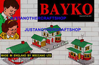 Bayko Building Set 1961 Vintage A3 Size Poster Advert Leaflet Shop Display Sign