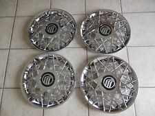 """1 SET OF 4 New 1998 1999 2000 2001 2002 Grand Marquis 16"""" Hubcaps Wheel Covers"""