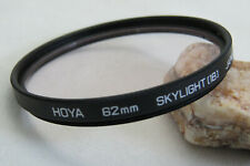 Hoya 62mm Skylight 1B Filter + Free UK Postage (2)