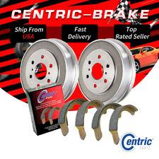 Rear Brake Drums & Premium Brake Shoes Set of 6 For 1995-1997 Ford Ranger
