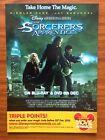 The Sorcerer's Apprentice - Rare Promo Postcard From  2010