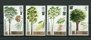 [W142] British Honduras 1971 Trees-Timber Industry MNH set.