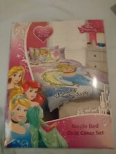 Brand new Genuine Disney Princess single bed quilt cover set (beauty sleep)