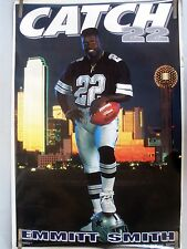RARE EMMIT SMITH COWBOYS 1992 VINTAGE ORIGINAL NFL COSTACOS BROTHERS  POSTER