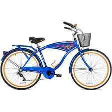 """26"""" Men's Margaritaville Multi-Speed Cruiser Bike, Blue"""