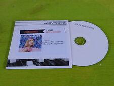 ZAZA FOURNIER - LE DEPART!!!!! FRENCH PROMO CD!!!!!!!