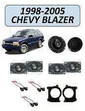 Fits Chevrolet Blazer 1998-2005 Factory Speaker Upgrade Combo Kit, KENWOOD