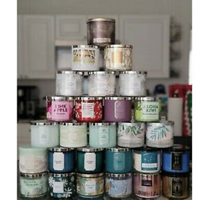 NEW BATH AND BODY WORKS 3-WICK CANDLE 14.5 OZ YOU CHOOSE THE SCENT!!