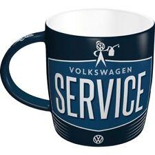VW SERVICE Tasse Kaffeetasse Volkswagen Golf Käfer Bulli Polo Passat Bus Mug