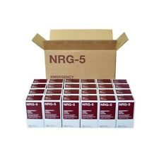 Notverpflegung,Krisennahrung,NRG-5,1 Karton mit 24 Packungen a 500 g, (9 Riegel)