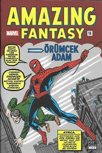 "Spider-Man Turkey / Amazing Fantasy #15 ""9.9"" (First-Ever Turkish Printing)"