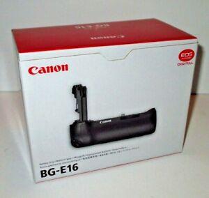 NEW Canon BG-E16 Battery Grip for EOS 7D Mark II Digital Camera 9130B001
