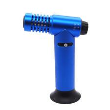 Single Torch Table Top Jet Lighter Butane 1300°C/2500°F Individual Box Blue Clor
