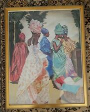 "Alix Beaujour African American Framed  Art Print 29"" x 23"" Image 27"" x 21"""