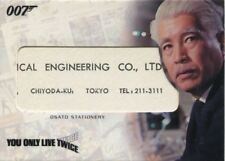 James Bond The Complete Relic Card RC16 Osato Stationary