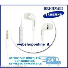 Cuffie Auricolari Bianco EHS64AVFE originali per SAMSUNG GALAXY A7 | A5 | A3