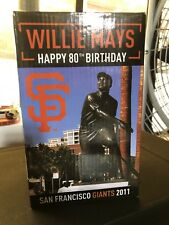 Willie Mays Statue Replica 80th Birthday San Francisco Giants SGA 2011