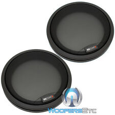 "MB QUART 6.5"" PROTECTIVE GRILLS FOR COMPONENT COAXIAL SPEAKERS GERMANY MADE NEW"