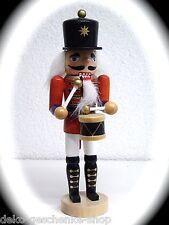 Nussknacker Nussknacker Nutcracker Trommler farbig bemalt 18 cm groß 30110