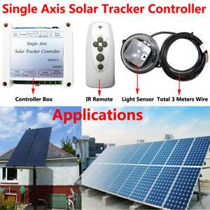 USA Single Axis Solar Tracker Linear Actuator Controller Electronic Sun Tracking