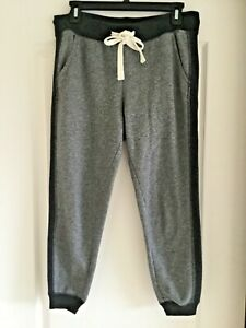 American Eagle Outfitters Gray/Black Elastic Waist Joggers/Sweat Pants Size S
