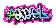 Grafitti Style Graffix Grafix Angels Sticker Decal Graphic Vinyl Label