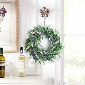 Artificial Lavender Topiary Wreaths Garden Front Door Hanging Window Wreath 30cm