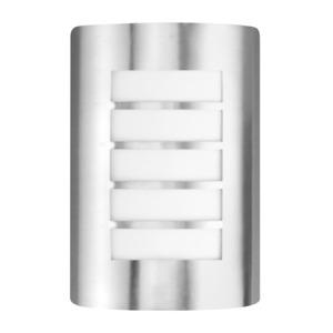 LED Outdoor Wall Light Waterproof Stainless Steel IP44 Louvred Light Modern