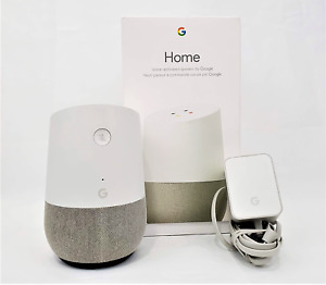 Google Home w/box voice activated speaker with Google Assistant