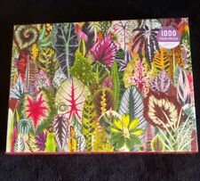 "Galison - HOUSEPLANT JUNGLE- 1000 Piece Jigsaw Puzzle — 27"" x 20"" - Pre-owned"