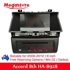8 inch HONDA ACCORD 2008-2012 8TH GEN Car DVD GPS Player Stereo Head Unit