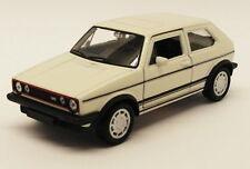 VW Golf MK1 GTi - White - Kinsmart Pull Back & Go Diecast Metal Model Car