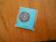 (new) Merry & Bright - Black Origami Owl Living Locket Plate Large