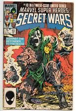 Marvel Super Heroes Secret Wars #10 VF/NM High Grade Mike Zeck Key series