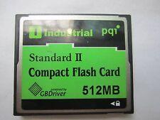 PQI 512MB Standard II CompactFlash Card CF  industrial Card