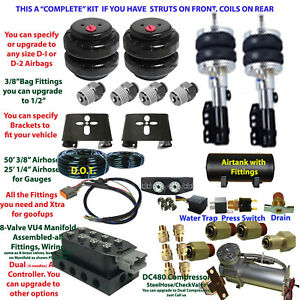 B 1999-2003 Honda Odyssey Plug and Play FBSS Complete Air Suspension Kit