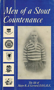 RA GERRARD England rugby book MEN OF A STOUT COUNTENANCE D Crichton-Miller