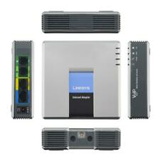 Unlocked Linksys SPA3102 VoIP Phone Adapter with Router 1 FXO 1 FXS voip Gateway