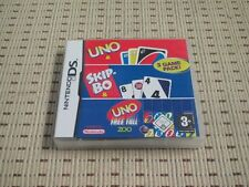 3 game pack uno & skip-BO & uno free fall pour Nintendo DS, DS Lite, DSi xl, 3ds