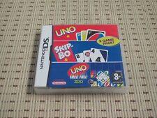 3 Game Pack onu & Skip-Bo & onu free caso para Nintendo DS, DS Lite, DSi XL, 3ds