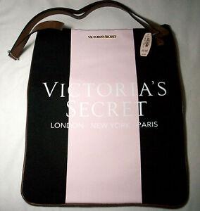 Victoria's Secret: Pink and Black Shoulder Tote: NWOT: NR
