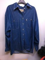 Mens Vintage In Fashion Trend Denim Shirt Size Large Designer Denim Co Official