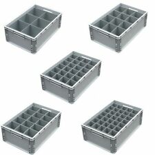 More details for glassware storage crates for champagne flutes, wine glasses, pints and hiballs