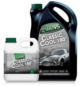 EVANS Classic Cool 180 Waterless Engine Coolant 2L Litres Restoration Antifreeze