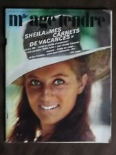 MADEMOISELLE AGE TENDRE. n°47 - Oct 1968. ( Sheila, mes carnets de vacances)