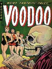 AJAX RETRO COMIC BOOK COVER VOODOO SKELETON LARGE POSTER ART PRINT BB3720A