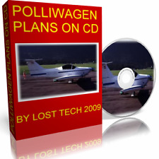 BUILD POLLIWAGEN AIRCRAFT COMPOSITE AIRPLANE PLANS PLUS EXTRAS ON CD