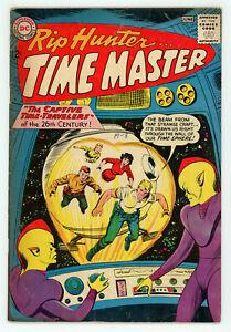JERRY WEIST ESTATE: RIP HUNTER… TIME MASTER #11 (VG) & 14 (VG+) (DC 1962-63) NR