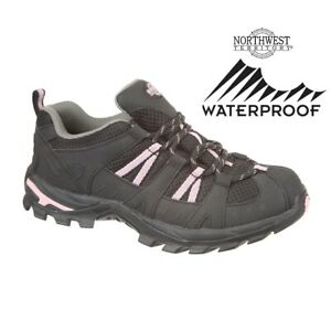 WOMENS LADIES NORTHWEST BOOTS WATERPROOF HIKING SHOES WALKING TRAINERS SIZE